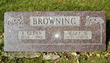 BROWNING, MARY MAGDELINE - Atchison County, Kansas | MARY MAGDELINE BROWNING - Kansas Gravestone Photos