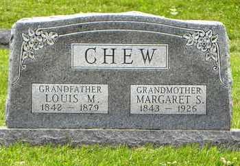 CHEW, LOUIS M - Atchison County, Kansas | LOUIS M CHEW - Kansas Gravestone Photos