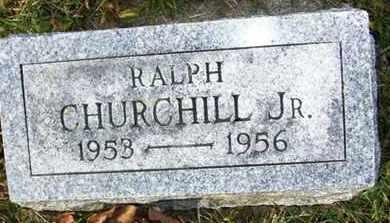 CHURCHILL, RALPH JR - Atchison County, Kansas | RALPH JR CHURCHILL - Kansas Gravestone Photos