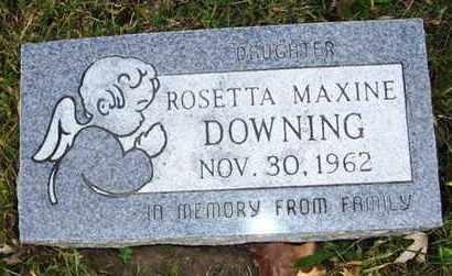 DOWNING, ROSETTA MAXINE - Atchison County, Kansas | ROSETTA MAXINE DOWNING - Kansas Gravestone Photos