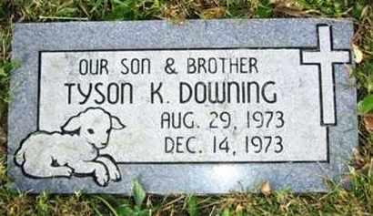 DOWNING, TYSON K - Atchison County, Kansas   TYSON K DOWNING - Kansas Gravestone Photos