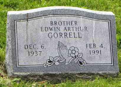 GORRELL, EDWIN ARTHUR - Atchison County, Kansas | EDWIN ARTHUR GORRELL - Kansas Gravestone Photos