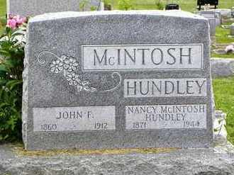 HUNDLEY, JOHN F - Atchison County, Kansas | JOHN F HUNDLEY - Kansas Gravestone Photos