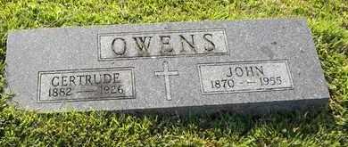 MEIER OWENS, GERTRUDE F - Atchison County, Kansas | GERTRUDE F MEIER OWENS - Kansas Gravestone Photos