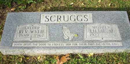 SCRUGGS, WYLIE REV - Atchison County, Kansas | WYLIE REV SCRUGGS - Kansas Gravestone Photos