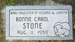 STONE, BONNIE CAROL - Atchison County, Kansas | BONNIE CAROL STONE - Kansas Gravestone Photos