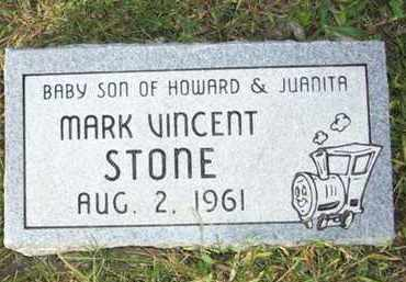 STONE, MARK VINCENT - Atchison County, Kansas | MARK VINCENT STONE - Kansas Gravestone Photos