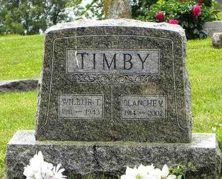 TIMBY, BLANCHE V - Atchison County, Kansas   BLANCHE V TIMBY - Kansas Gravestone Photos