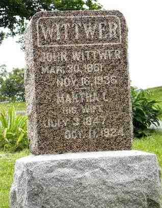 WITTWER, MARTHA L - Atchison County, Kansas | MARTHA L WITTWER - Kansas Gravestone Photos