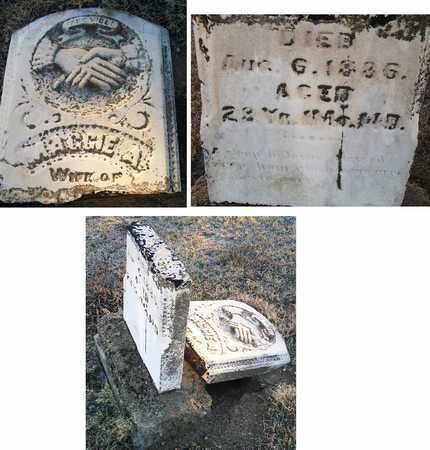 UNKNOWN, MAGGIE A - Barton County, Kansas | MAGGIE A UNKNOWN - Kansas Gravestone Photos