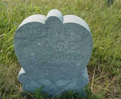 BASE, GUSTAVE J - Barton County, Kansas   GUSTAVE J BASE - Kansas Gravestone Photos