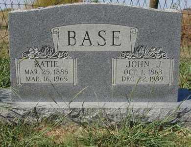BASE, JOHN J - Barton County, Kansas   JOHN J BASE - Kansas Gravestone Photos