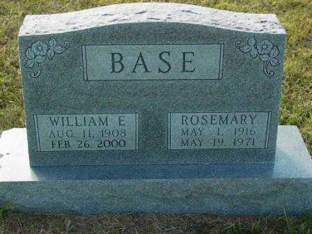 BRAZDA BASE, ROSEMARY - Barton County, Kansas | ROSEMARY BRAZDA BASE - Kansas Gravestone Photos