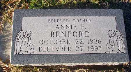 BENFORD, ANNIE E - Barton County, Kansas   ANNIE E BENFORD - Kansas Gravestone Photos