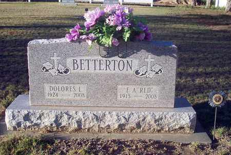 LANNON BETTERTON, DOLORES L - Barton County, Kansas | DOLORES L LANNON BETTERTON - Kansas Gravestone Photos