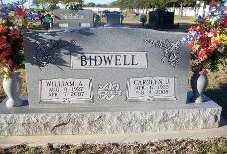 BIDWELL, WILLIAM A - Barton County, Kansas | WILLIAM A BIDWELL - Kansas Gravestone Photos