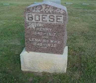 BOESE, HENRY - Barton County, Kansas   HENRY BOESE - Kansas Gravestone Photos