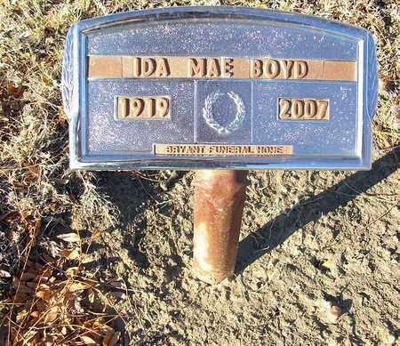 BOYD, IDA MAE - Barton County, Kansas | IDA MAE BOYD - Kansas Gravestone Photos