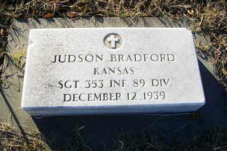 BRADFORD, JUDSON  (VETERAN WWI) - Barton County, Kansas | JUDSON  (VETERAN WWI) BRADFORD - Kansas Gravestone Photos