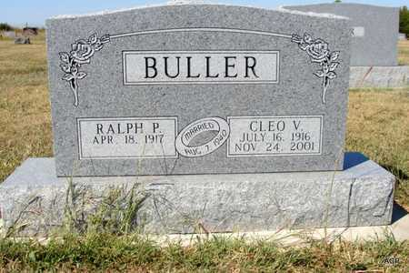 BULLER, CLEO VELMA - Barton County, Kansas | CLEO VELMA BULLER - Kansas Gravestone Photos