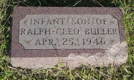 BULLER, INFANT SON - Barton County, Kansas | INFANT SON BULLER - Kansas Gravestone Photos