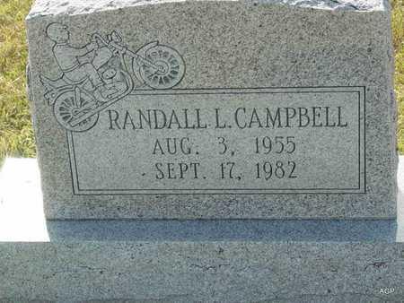 CAMPBELL, RANDALL L - Barton County, Kansas | RANDALL L CAMPBELL - Kansas Gravestone Photos