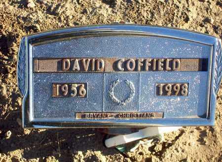 COFFIELD, DAVID - Barton County, Kansas | DAVID COFFIELD - Kansas Gravestone Photos