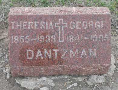 DANTZMAN, THERESIA - Barton County, Kansas | THERESIA DANTZMAN - Kansas Gravestone Photos