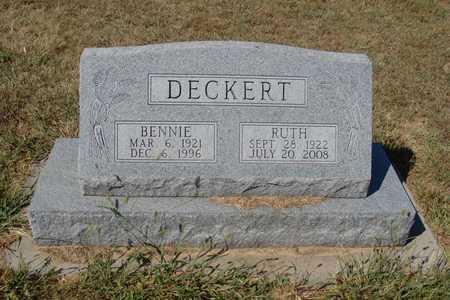 MAXWELL DECKERT, RUTH MADELYNN - Barton County, Kansas   RUTH MADELYNN MAXWELL DECKERT - Kansas Gravestone Photos