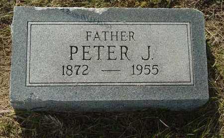 DECKERT, PETER J - Barton County, Kansas   PETER J DECKERT - Kansas Gravestone Photos