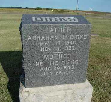 "SIEBERT DIRKS, AGANETHA ""NETTIE"" - Barton County, Kansas | AGANETHA ""NETTIE"" SIEBERT DIRKS - Kansas Gravestone Photos"