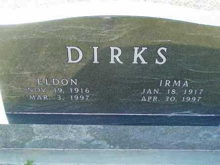 DIRKS, ELDON - Barton County, Kansas | ELDON DIRKS - Kansas Gravestone Photos