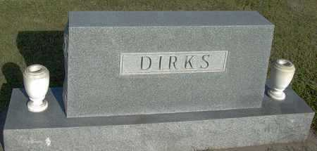 DIRKS, FAMILY STONE - Barton County, Kansas   FAMILY STONE DIRKS - Kansas Gravestone Photos