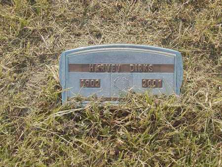 DIRKS, HARVEY - Barton County, Kansas | HARVEY DIRKS - Kansas Gravestone Photos