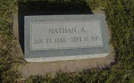 DIRKS, NATHAN A - Barton County, Kansas | NATHAN A DIRKS - Kansas Gravestone Photos