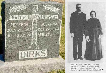 DIRKS, PETER H - Barton County, Kansas | PETER H DIRKS - Kansas Gravestone Photos