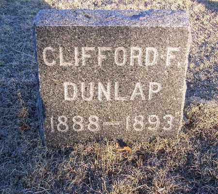 DUNLAP, CLIFFORD F - Barton County, Kansas   CLIFFORD F DUNLAP - Kansas Gravestone Photos
