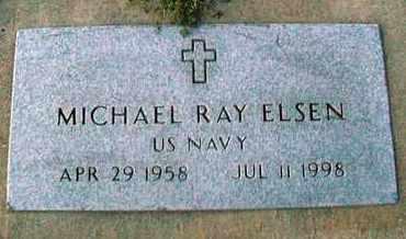 ELSEN, MICHAEL RAY  (VETERAN) - Barton County, Kansas   MICHAEL RAY  (VETERAN) ELSEN - Kansas Gravestone Photos