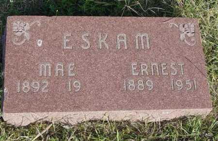 ESKAM, MAE - Barton County, Kansas   MAE ESKAM - Kansas Gravestone Photos