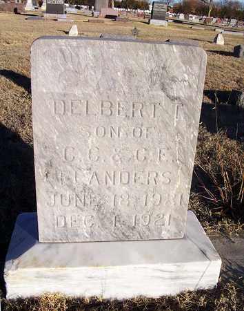 FLANDERS, DELBERT T - Barton County, Kansas | DELBERT T FLANDERS - Kansas Gravestone Photos