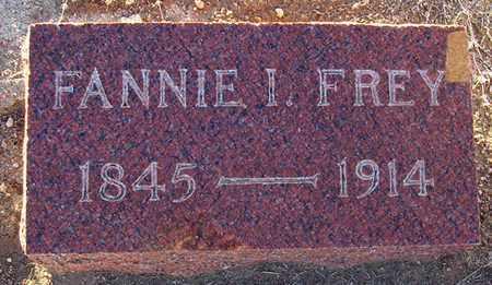 "FREY, FRANCES ISABELLA ""FANNIE"" - Barton County, Kansas | FRANCES ISABELLA ""FANNIE"" FREY - Kansas Gravestone Photos"
