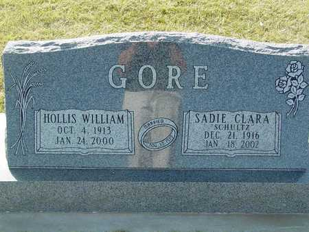 GORE, SADIE CLARA - Barton County, Kansas | SADIE CLARA GORE - Kansas Gravestone Photos