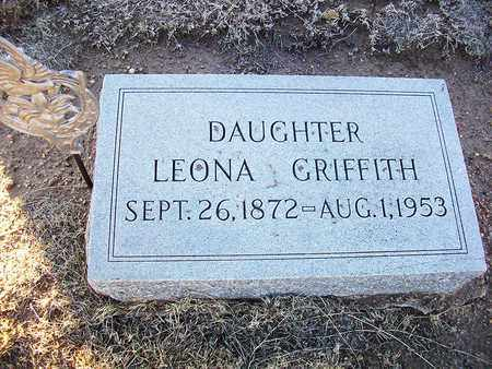 GRIFFITH, LEONA - Barton County, Kansas | LEONA GRIFFITH - Kansas Gravestone Photos