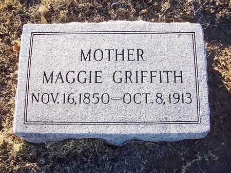 "GRIFFITH, MARY MAGDALENE ""MAGGIE"" - Barton County, Kansas | MARY MAGDALENE ""MAGGIE"" GRIFFITH - Kansas Gravestone Photos"