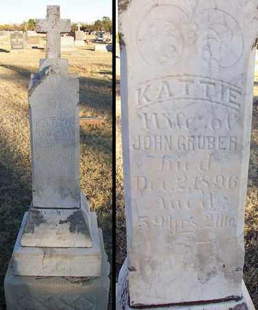 GRUBER, KATTIE - Barton County, Kansas | KATTIE GRUBER - Kansas Gravestone Photos