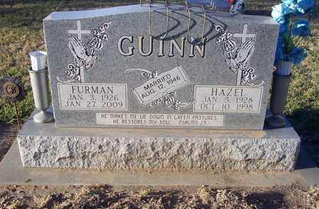 GUINN, FURMAN ROY - Barton County, Kansas | FURMAN ROY GUINN - Kansas Gravestone Photos