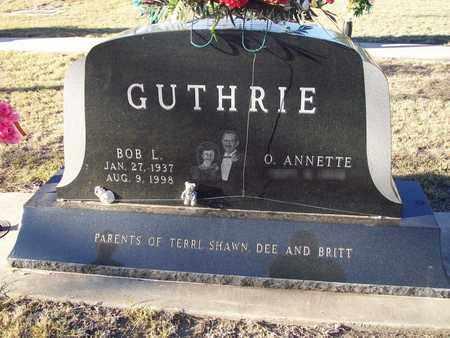 GUTHRIE, BOB L - Barton County, Kansas   BOB L GUTHRIE - Kansas Gravestone Photos