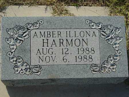 HARMON, AMBER ILLONA - Barton County, Kansas | AMBER ILLONA HARMON - Kansas Gravestone Photos