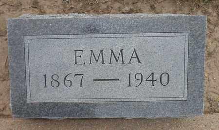 HERTER, EMMA - Barton County, Kansas | EMMA HERTER - Kansas Gravestone Photos