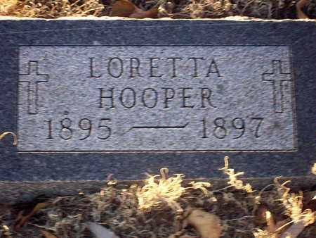 HOOPER, LORETTA - Barton County, Kansas | LORETTA HOOPER - Kansas Gravestone Photos